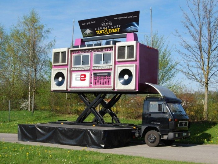 Boom Box - Eventmobil